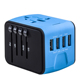 Wholesale usb ac/dc adapter 4 usb power adapter Electrical mobile phone accessories universal plug adapter