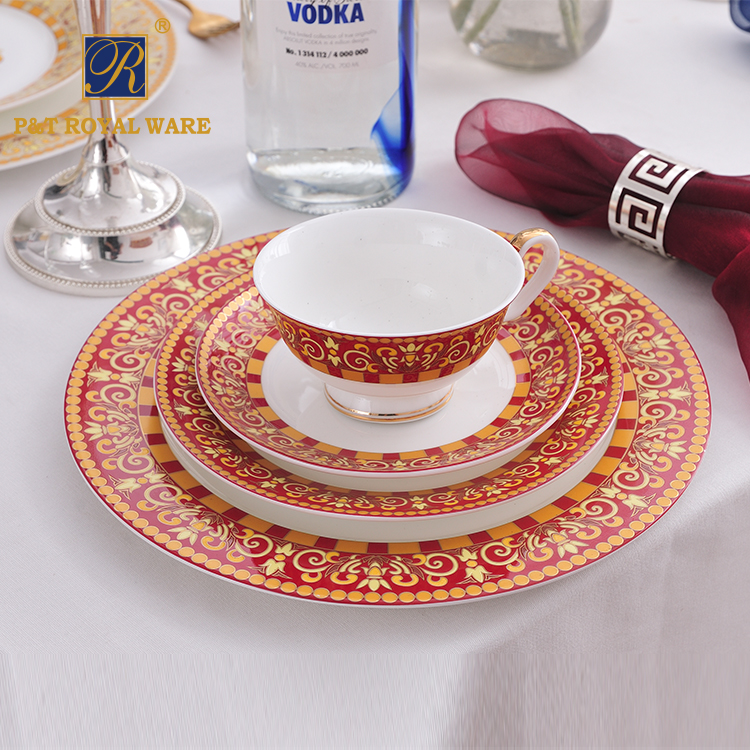 New Design cheap kitchen dinner sets wholesale dinner set for wedding party
