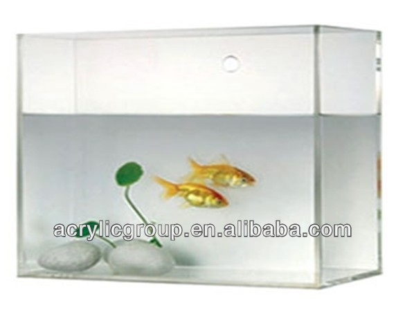 Manufacturer supplies exquisite large acrylic aquarium