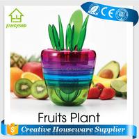 FY5205 Fruit Plant 10 in 1 Plastic Apple Cutter Fruit Grater Vegetable Peeler Mesh Cutter