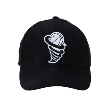 a7b62c2466a9e Promotion custom Fashion embroidered logo Black 6 Panel sports caps Unisex  cotton Baseball Hats Cap