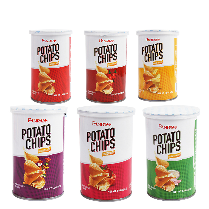 favorite canned food Brands potato chips