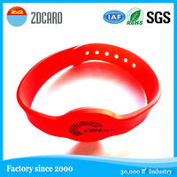 HF reusable rfid bracelet for access control