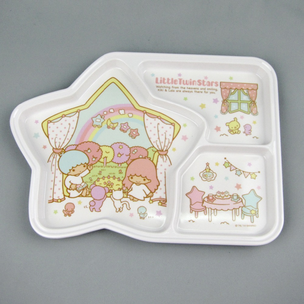 melamine tray for kids kids melamine serving hello kitty tray melamine divided tray Multi-Pattern Fashion Square Plastic