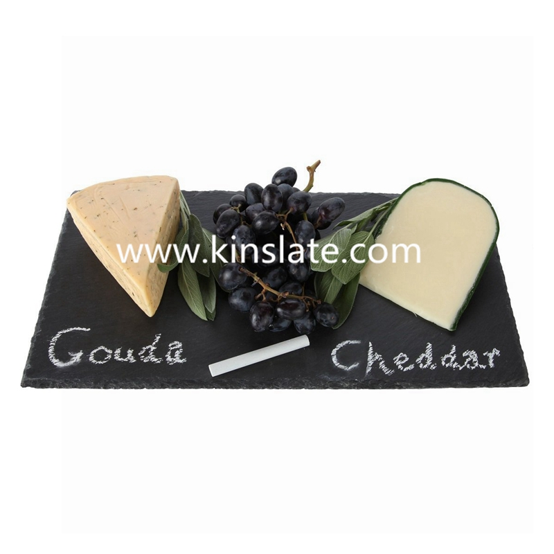 beautiful slate cheese board chalkboard cheese plate with natural edge for dinner parties