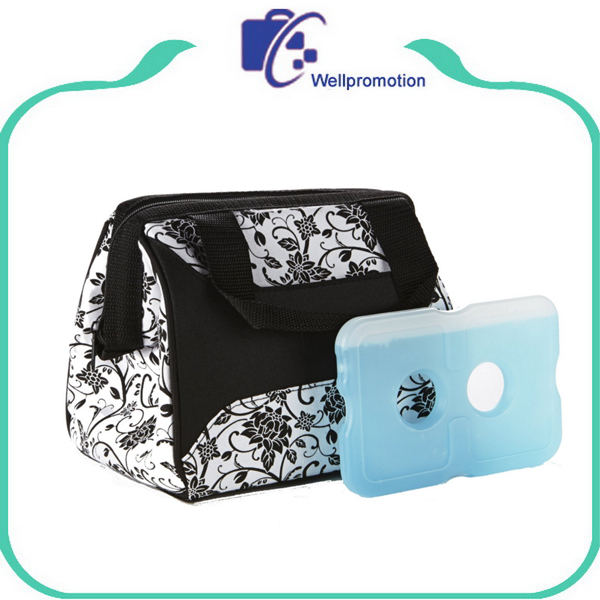 Wholesale Tote portable cooler Insulated Lunch Bag with Ice Pack
