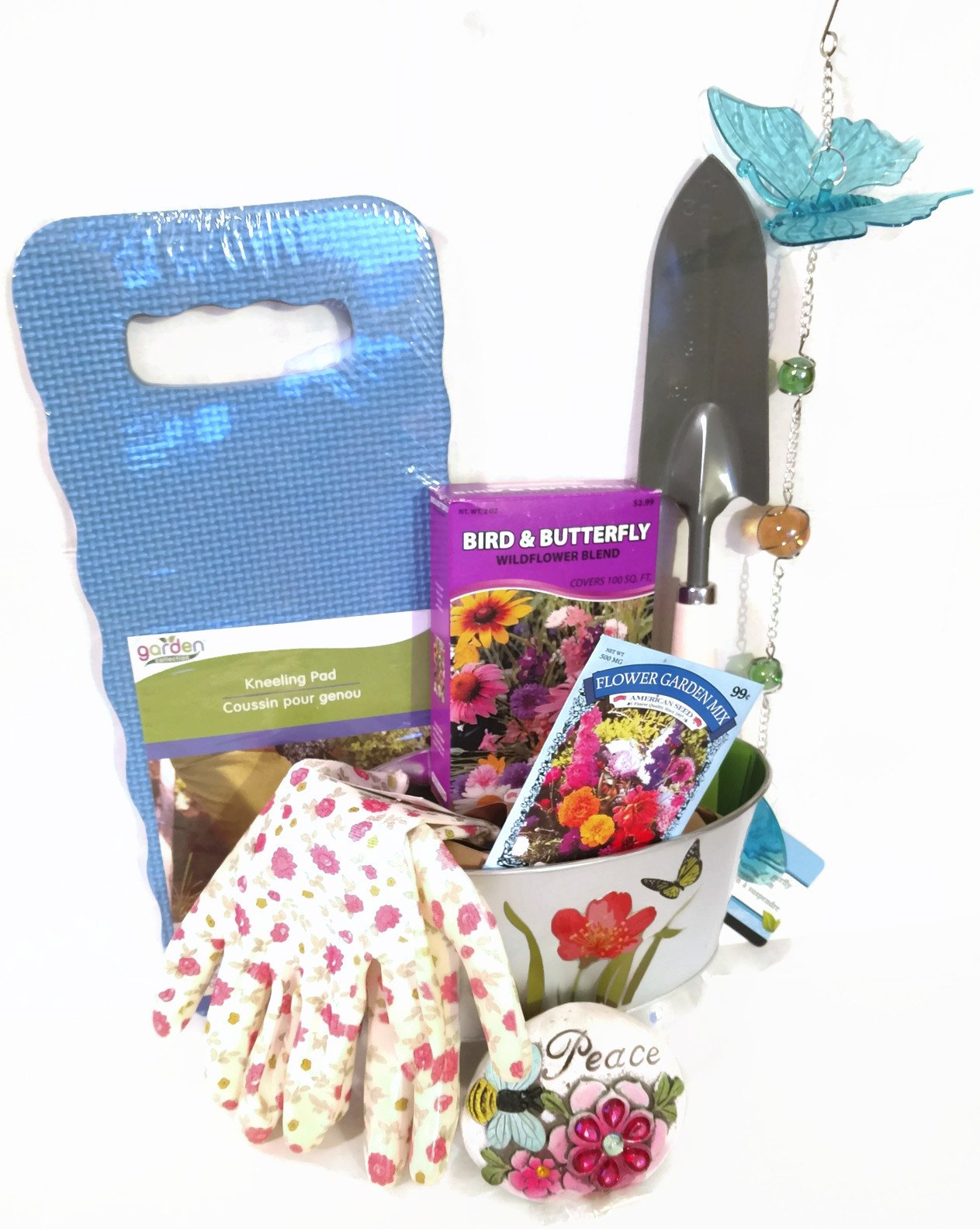 GyPsy BaRn ChiX Mother Birthday Gift Garden Set - 9 Piece Set Includes Gift Bag