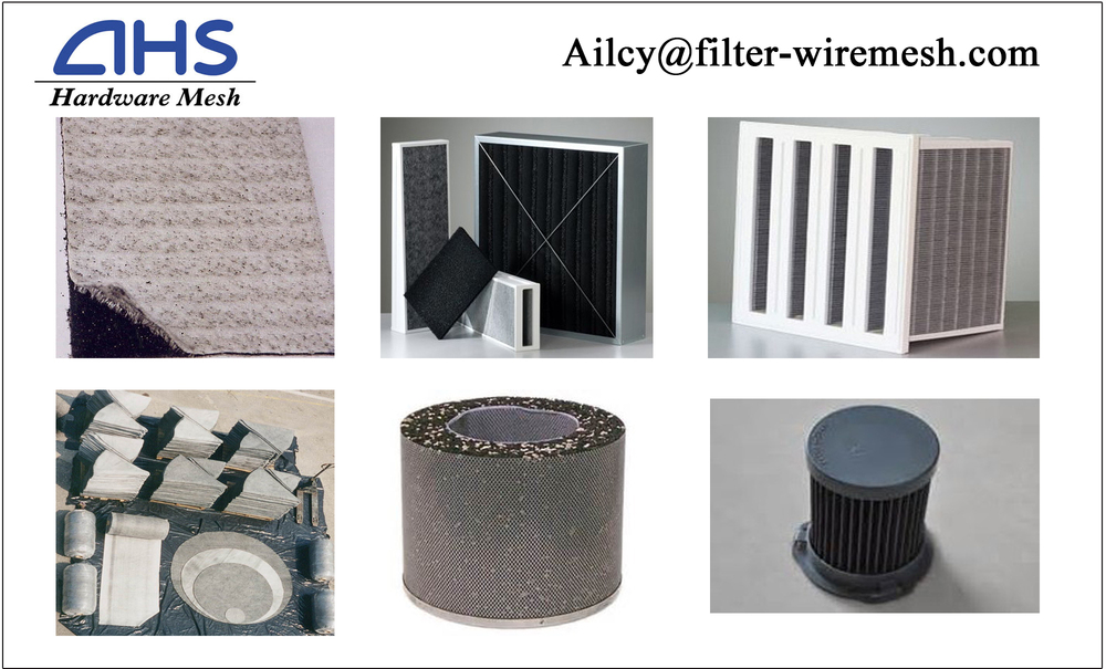 Ahs-0998 Activated Carbon Filter Element/carbon Canisters For ...