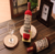 creative cut popular wine bottle towel cake