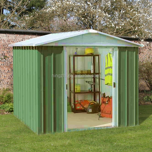 Outdoor Metal Garden Shed House