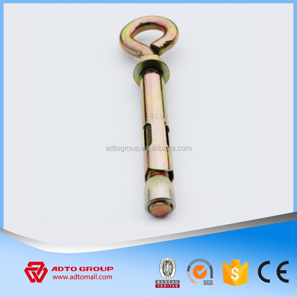 4Pcs Fix Bolt with Eye bolts and different Anchor bolts