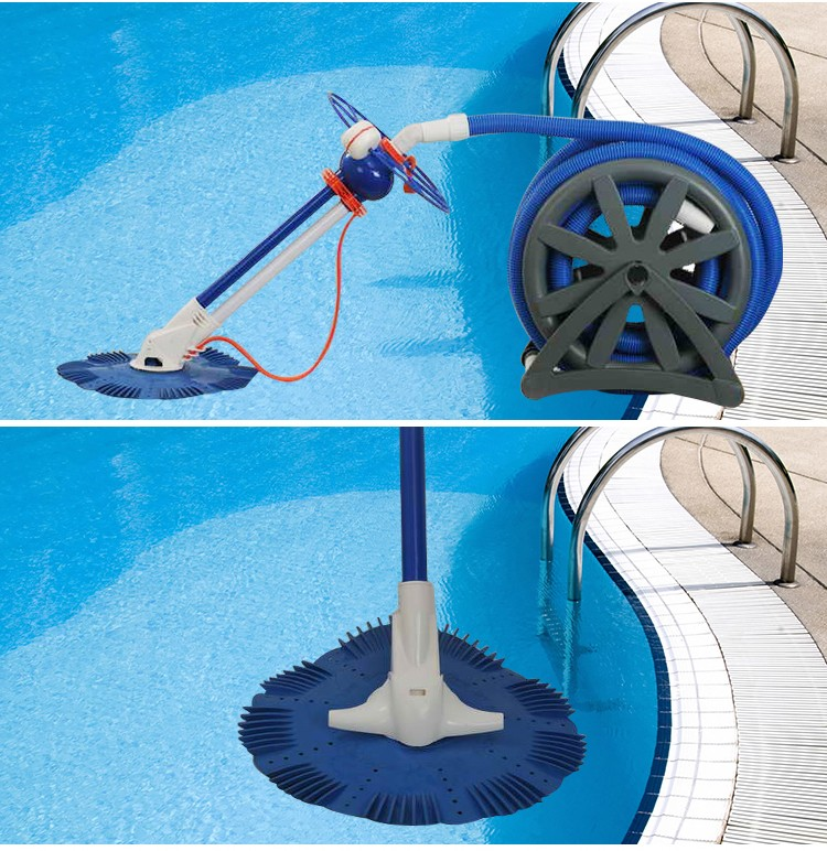 Swimming Pool Cleaning Machine : Swimming pool clean machine automatic and manual control