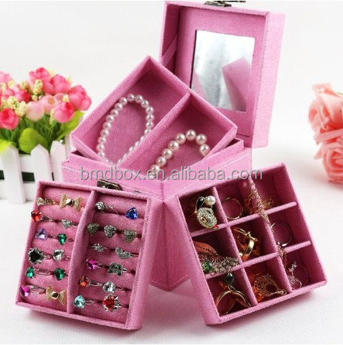 portable luxury jewelry box wholesale cheap indian wedding return