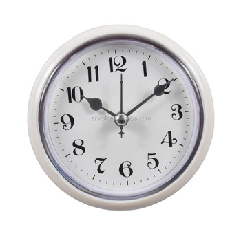 2017 Small Round Shape Bathroom Clock Buy Bathroom Clock
