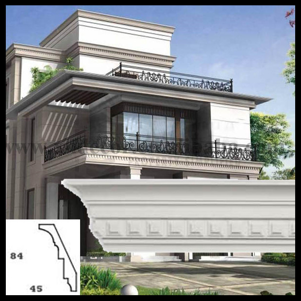 Architectural Cornices Mouldings : Outdoor use waterproof anti ultraviolet polyurethane