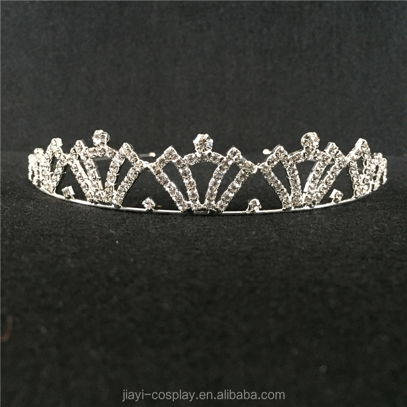 wholesale bulk beatuiful princess rhinestone tiaras trendy crowns and tiaras