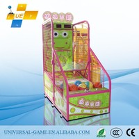 Kids' Basketball Shooting Hoops Basketball Amusement Machine, Street Basketball Machine, Coin Operated Basketball Game Machine