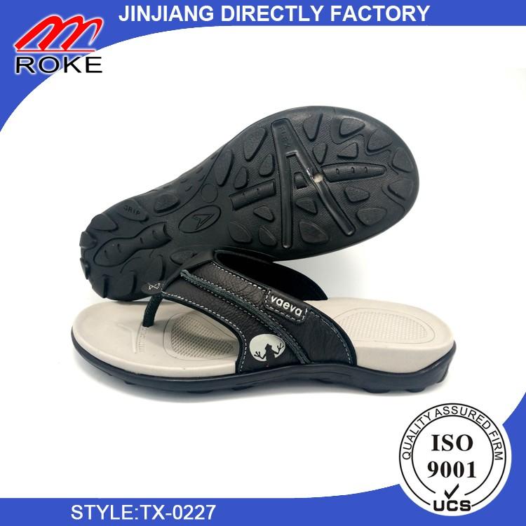 Men's Handmade Fashion Beach Slipper Indoor and Outdoor Classical Flip-flop Thong Sandals