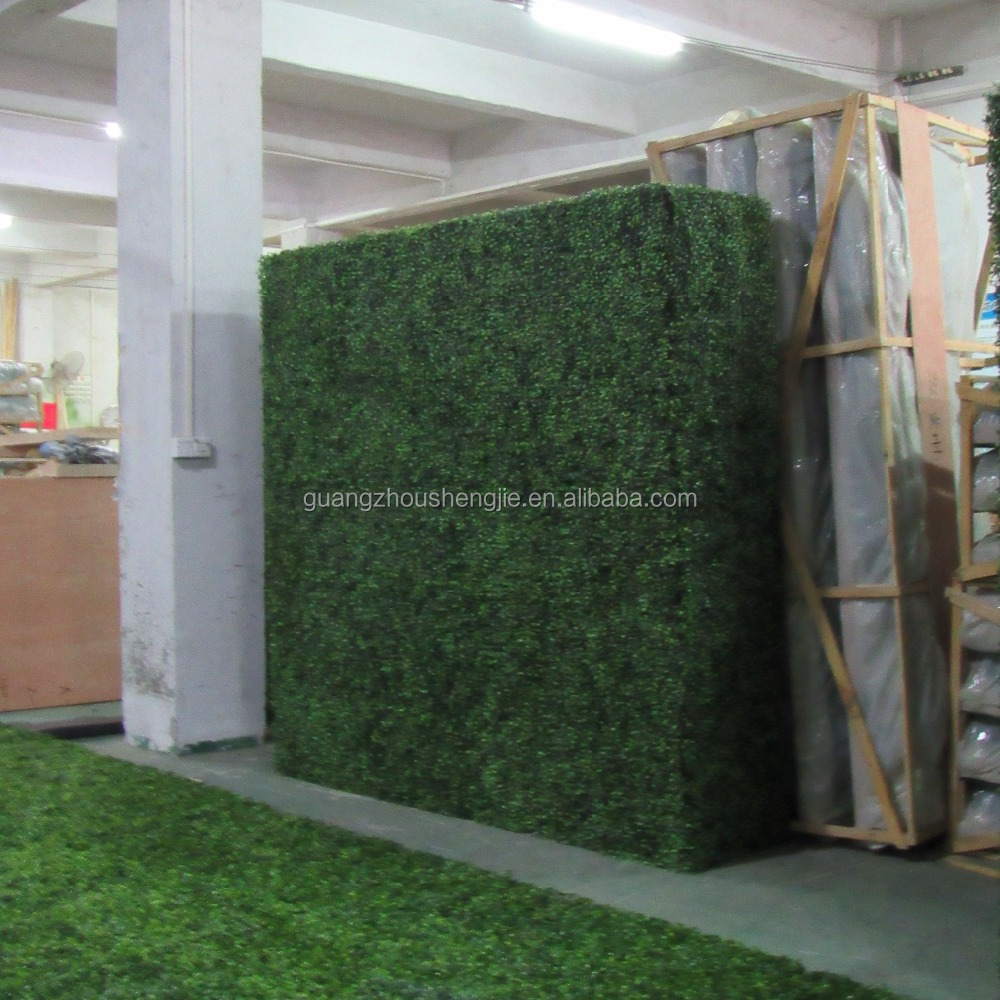 SJ0409034 artificial grass hedge/artificial plants vertical garden wall