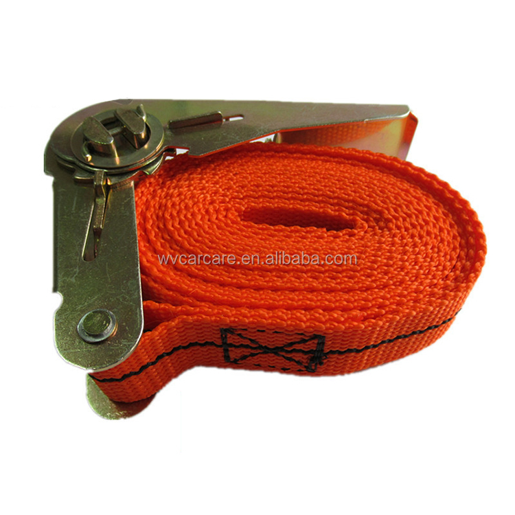 Best small retractable heavy duty ratchet tie down lashing cargo load straps for car / Trailer and truck tie downs