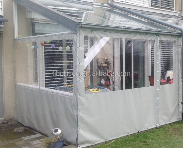 Crystal Clear Vinyl Tarps 20 Mil For Patio Enclosure And