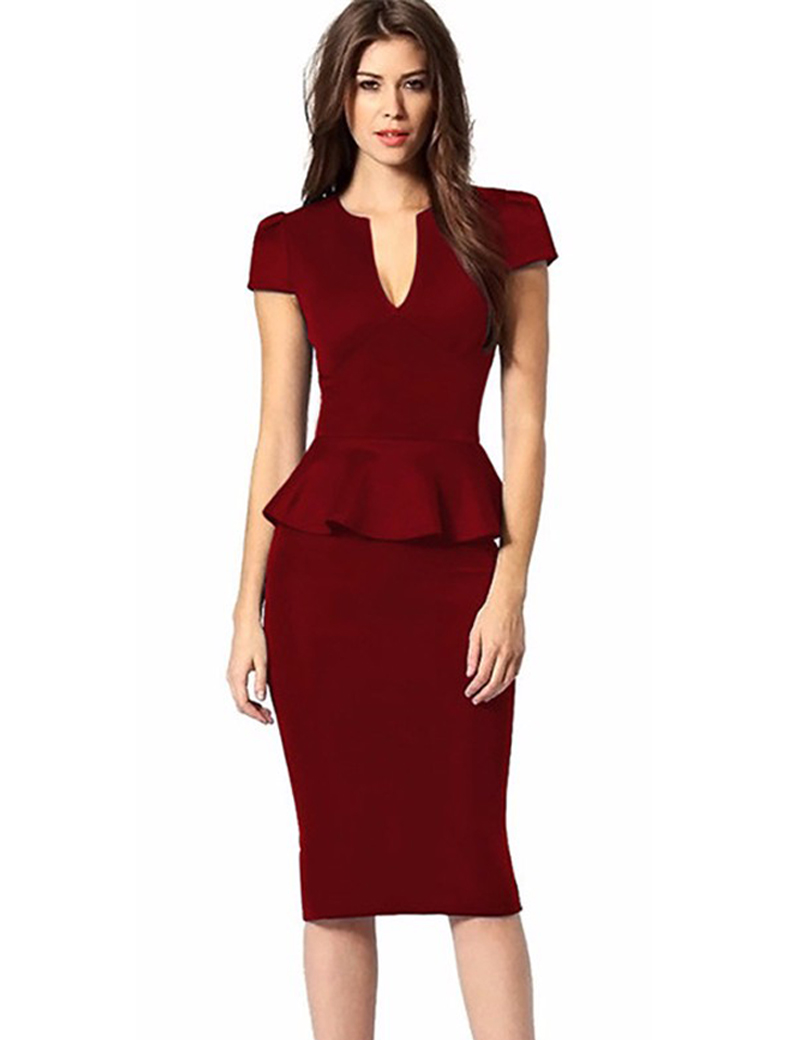 Buy the latest plus size peplum dress cheap shop fashion style with free shipping, and check out our daily updated new arrival plus size peplum dress at fatalovely.cf