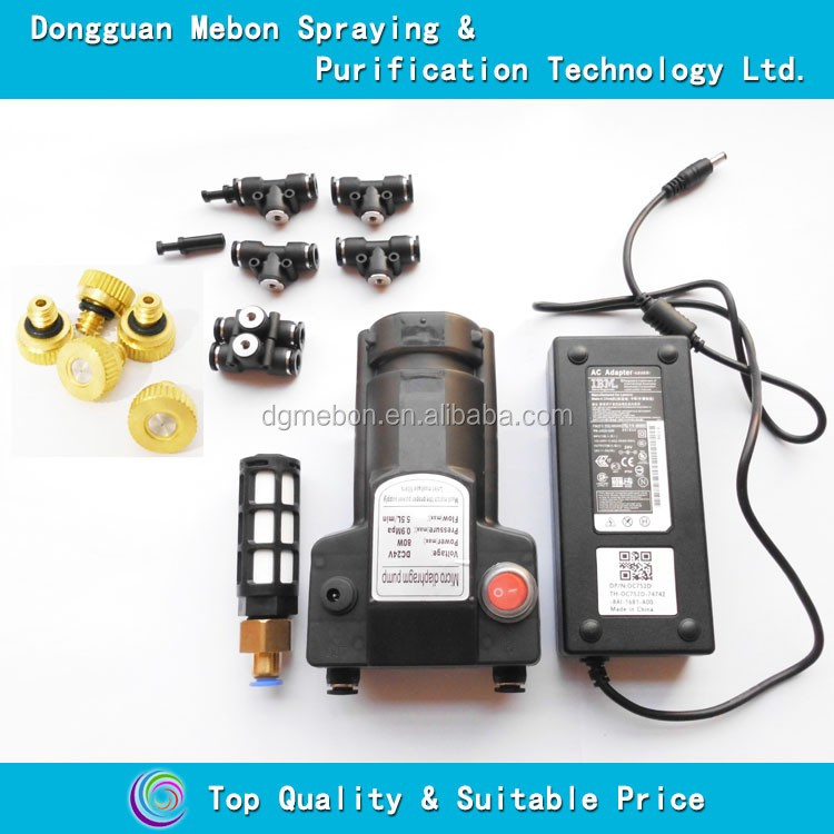 39 nozzles micro fog pump,fine mist cooling mist system