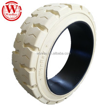 top sales good price solid rubber wheels, forklift industrial press on solid tire 16x6x10.5