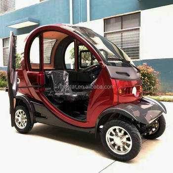 2017 Hot Electric Vehicle Mini Electric Car 4 Wheel Scooter