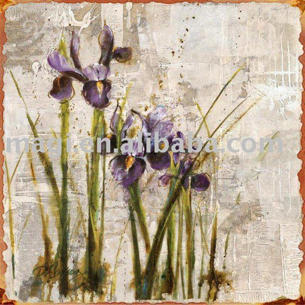 Spring Style Rust Edge Outdoor Wall Arts