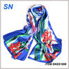 Promote high quality fashionable stock scarves silk