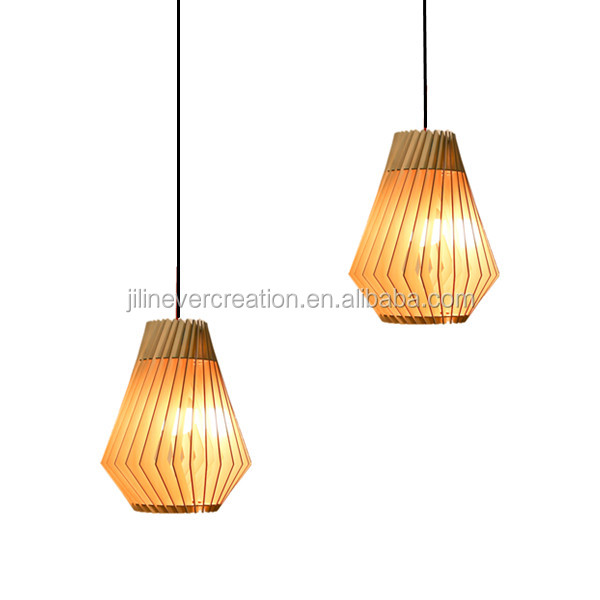 Quality In Natural Source Pendant Lights Nordic American Restaurant Bar Round Ball Led Solid Wood Luminaire Superior