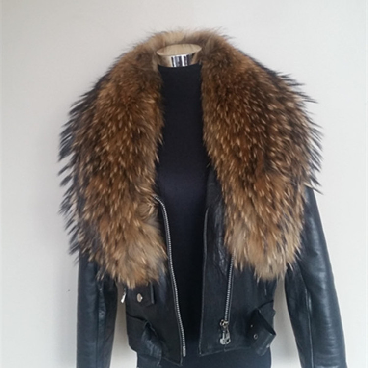 2017 New design raccoon fur trimming for hood