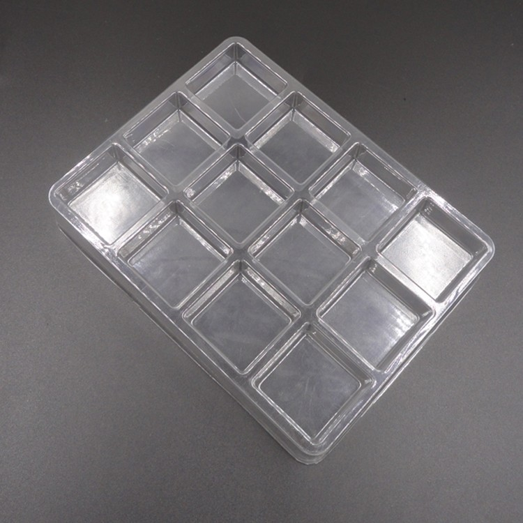 Cookies Plastic Container Tray Packaging Transparent Type