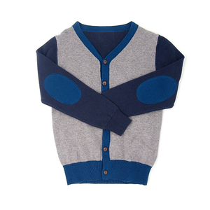 100%Organic cotton High Quality Kid Clothing Baby Boy Sweater Cardigan Design