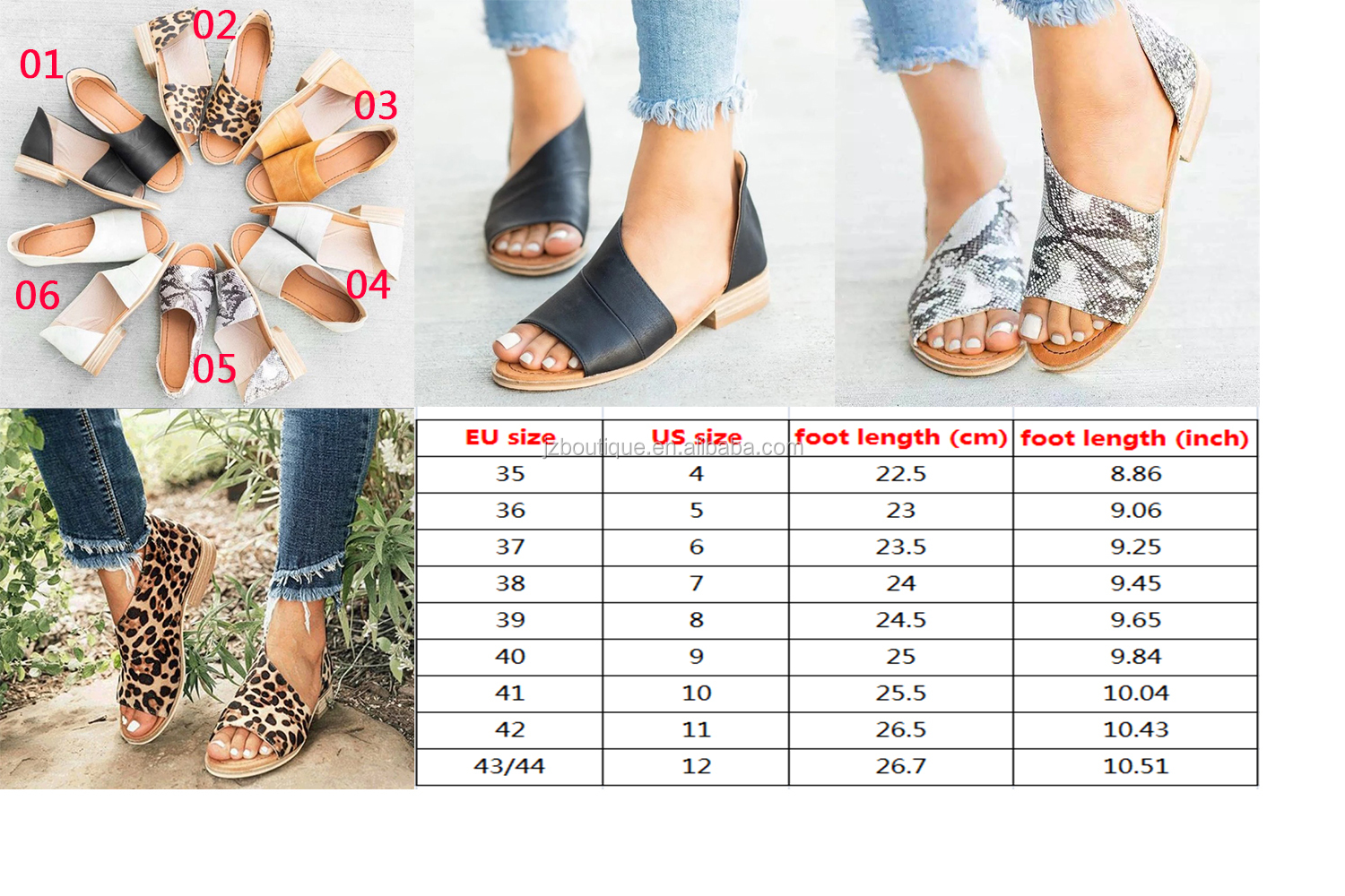 JUNZHI 2019 High-heeled Shoes Bottom Waterproof Platform Shoes Leather Women's fitness Sandals With Flower print