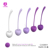 Innovative new designed kegel ball, silicone ben wa balls for woman weight kegel excise