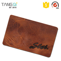 Chinese Products Pu Leather Patch Label For Garments Jeans