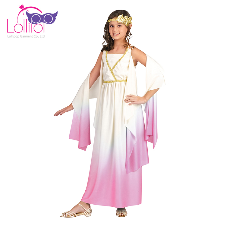 Meilleur enfants halloween carnaval costume 2017 filles robe up costumes, athena déesse cosplay dress up vêtements pour filles