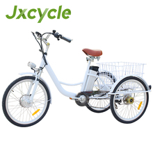 250 w motor electric 6 speed Adult Tricycle bike in france