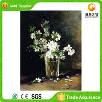 Glass Painting Pictures Of Flowers Zhejiang Manufacturer Supply