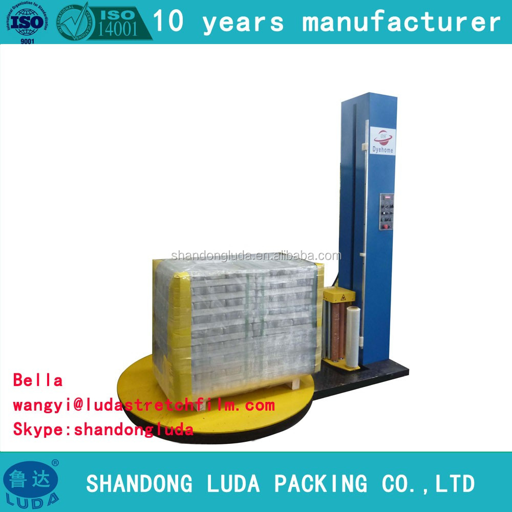 Plastic Strech Film Wrapping Packaging Machine