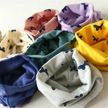 2016 Hot Sell Autumn Winter Boys Girls Collar Baby Scarf Cotton O Ring Neck Scarves Novelty Cotton Collar Kids Scarf Fast Ship