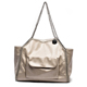 2018 Wholesale Soft PVC Women Handbag Lady Shoulder Bag Tote Chain Bags