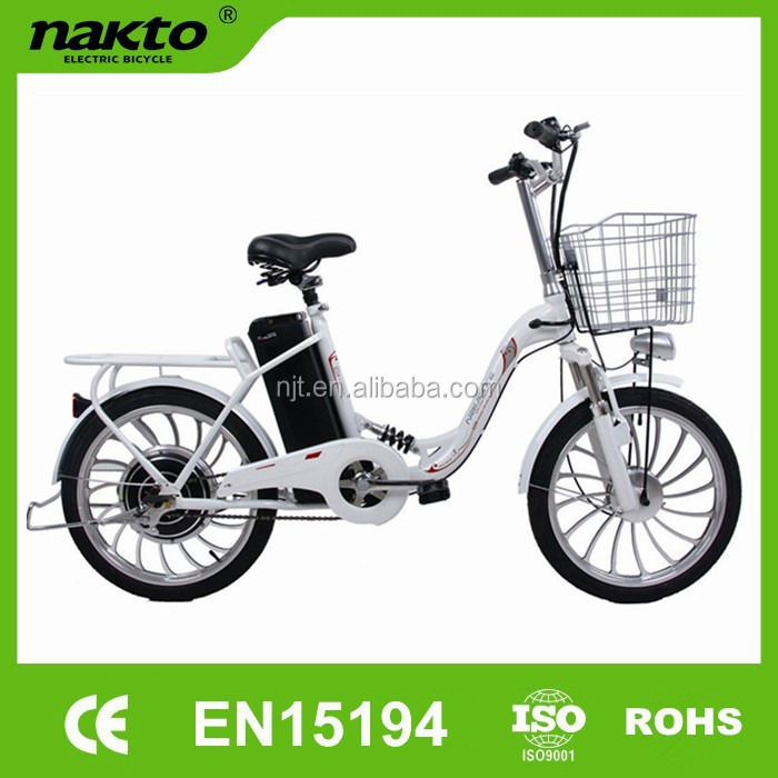 Zhejiang Naijiate 20inch foldable electric bicycle in high quality