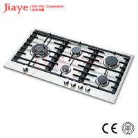 built-in 5 burner touch switch Gas Stove gas burner gas cookerJY-S5091