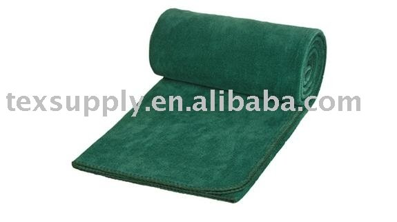 solid color fleece blanket