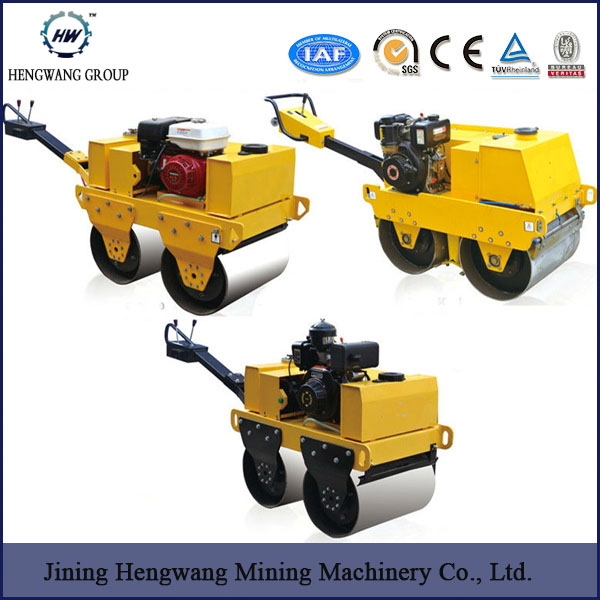Full Hydraulic Small Double Smooth Drum 3 Ton Vibratory Road Roller For Sale