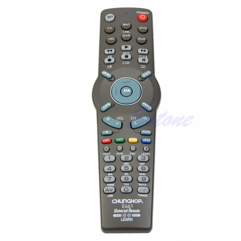 6in1 Learning Universal Remote Control Controller For Tv