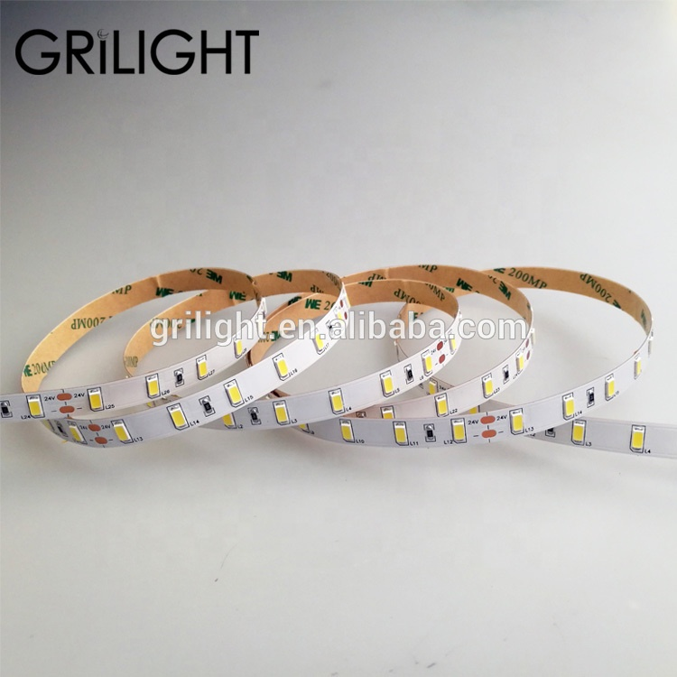 Shenzhen factory price smd 5630 5730 led 5m roll ul listed led strip light